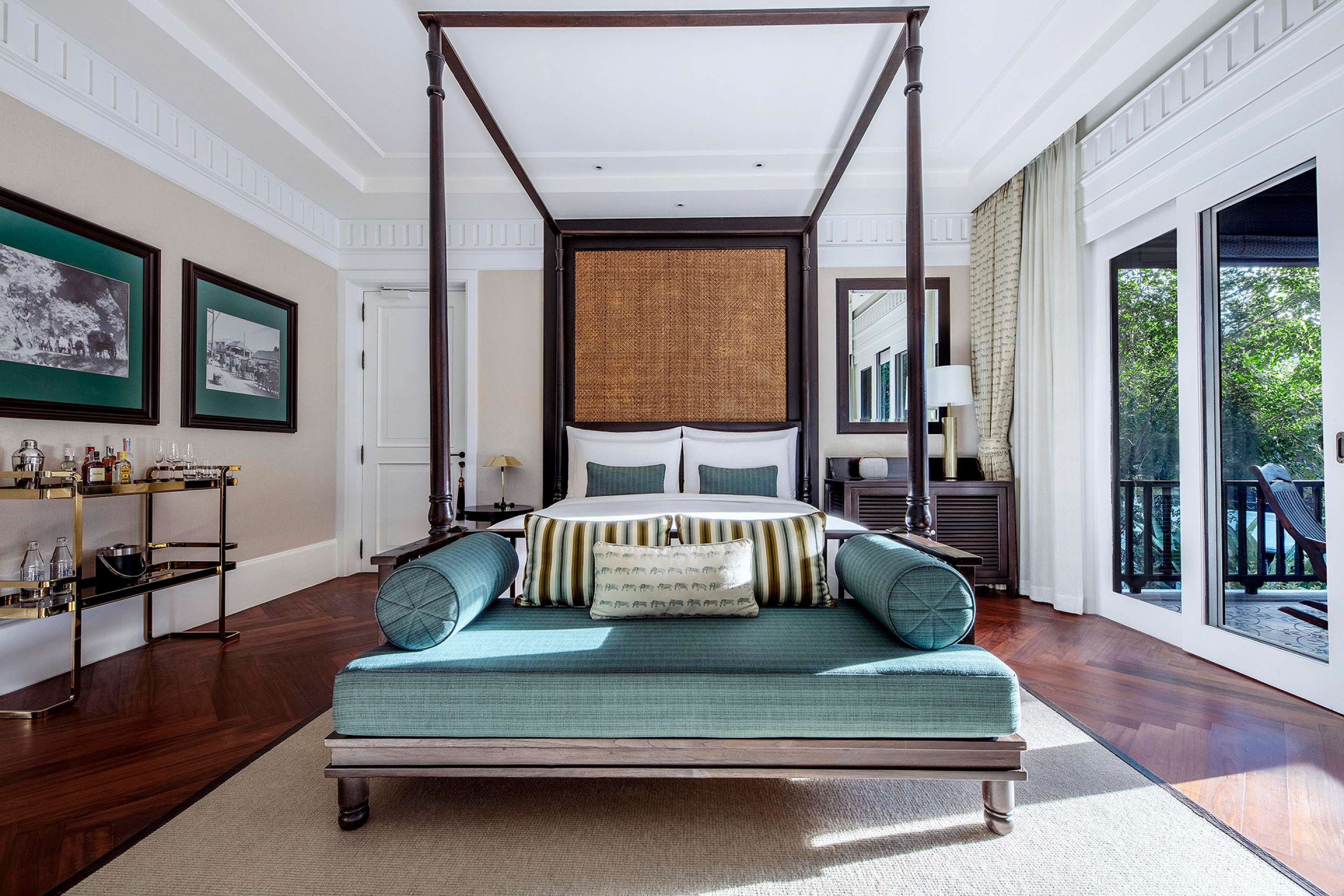 Rajah Brooke Suite Bedroom
